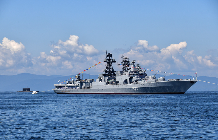 US Warship Nearly Collided with Russian Vessel Near China