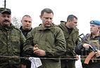 Александр Захарченко (третий слева)