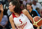 Российская баскетболистка Ксения Левченко