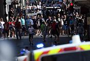 Российские болельщики во время беспорядков в Марселе, 11 июня