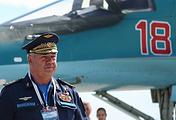 Главнокомандующий Воздушно-космических сил Виктор Бондарев
