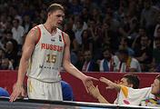 Баскетболист сборной России Тимофей Мозгов