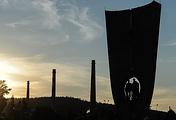Новоуральск. Стела основателям города