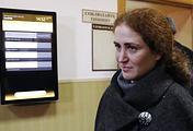 Директор РАМТ Софья Апфельбаум после рассмотрения ходатайства об аресте в Басманном суде