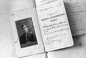 Фрагмент личного дела академика Николая Вавилова