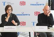 Генеральный директор Третьяковской галереи Зельфира Трегулова и архитектор Рем Колхас