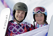 Вик Уайлд и Алена Заварзина, 2014 год