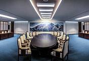 Зал, где пройдут встречи межкорейского саммита, Пханмунджом