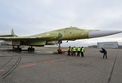 Выкатка самолета Ту-160М2 на Казанском авиационном заводе