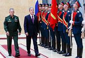 Министр обороны РФ Сергей Шойгу и министр национальной обороны Турции Хулуси Акар