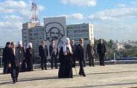 Визит патриарха Кирилла на Кубу, площадь Революции, Гавана