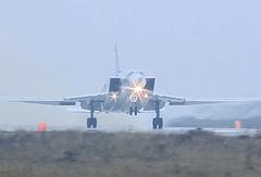Бомбардировщик Ту-22М3 ВКС России