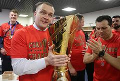 Президент БК ЦСКА Андрей Ватутин