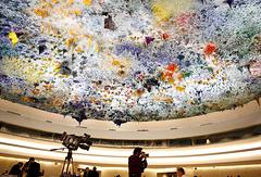 Зал заседаний Совета ООН по правам человека