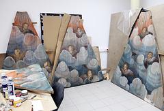"""""""Небеса"""" с ангелами, отреставрированные для Кенозерского национального парка"""
