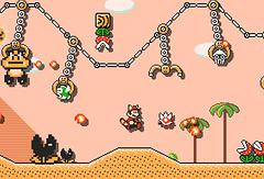"""Скриншот из игры """"Super mario maker 2"""""""