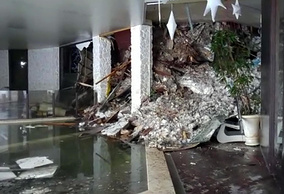 Внутри отеля Rigopiano di Farindola