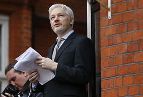 the Founder of WikiLeaks Julian Assange