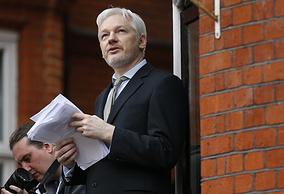 the Founder of WikiLeaks Julian Assange