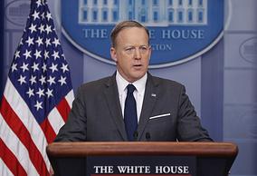 Пресс-секретарь президента США Шон Спайсер