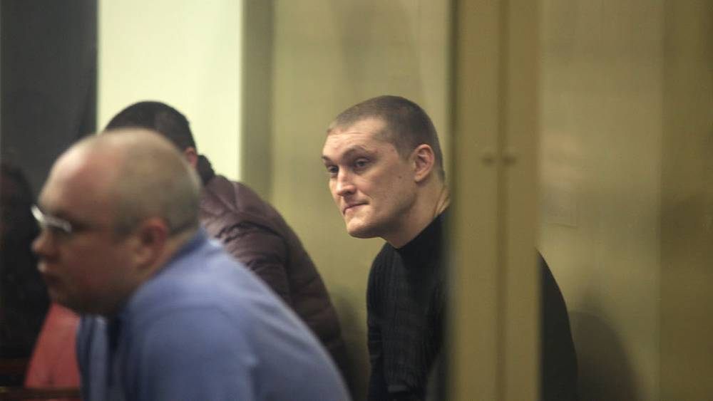 Участник банды Цапка Владимир Алексеев. Фото ИТАР-ТАСС/ Андрей Миронов