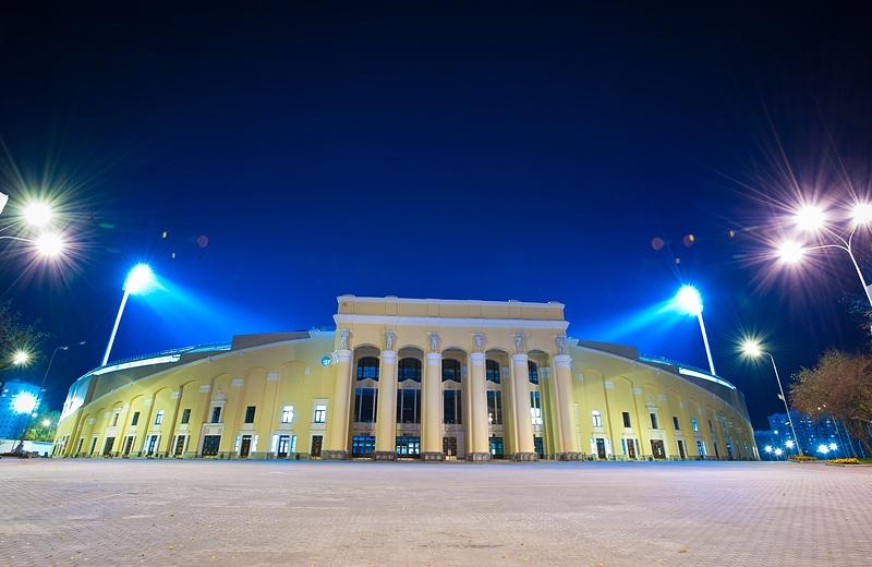 Вид Центрального стадиона Екатеринбурга в настоящее время