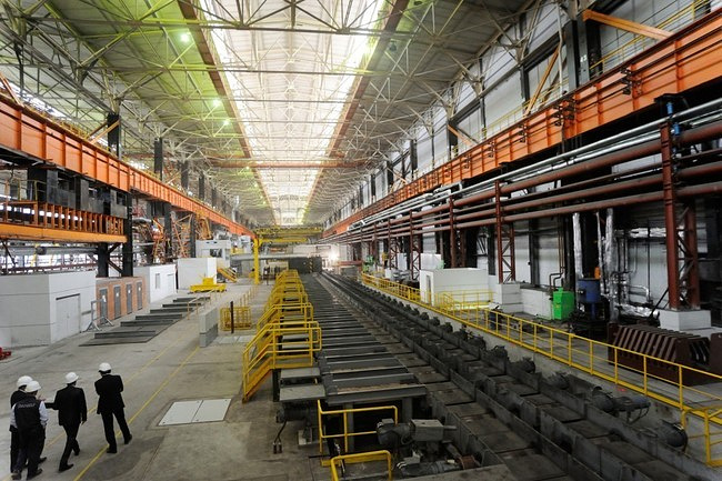 Универсальный рельсобалочный стан на Челябинском металлургическом комбинате