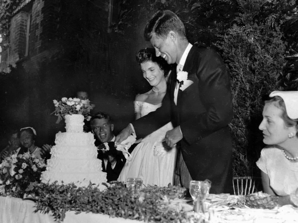 Свадьба Джона и Жаклин Кеннеди, 12 сентября 1953