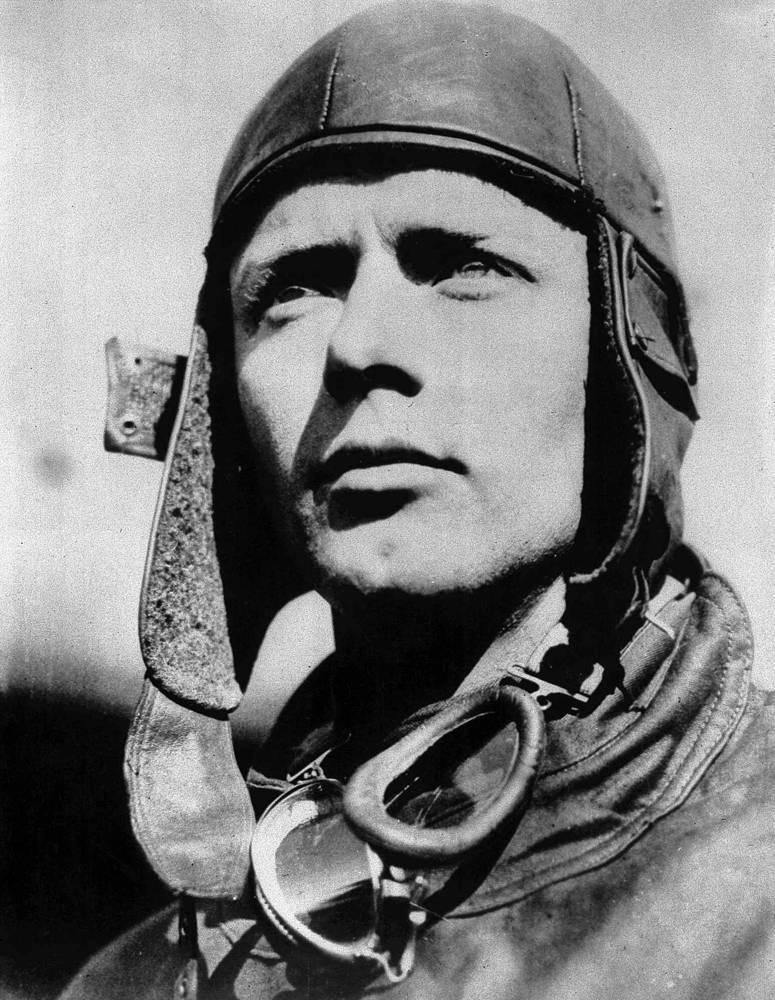 Американский летчик Чарльз Линдберг