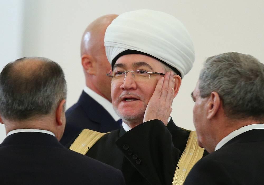 Председатель Совета муфтиев России Равиль Гайнутдин