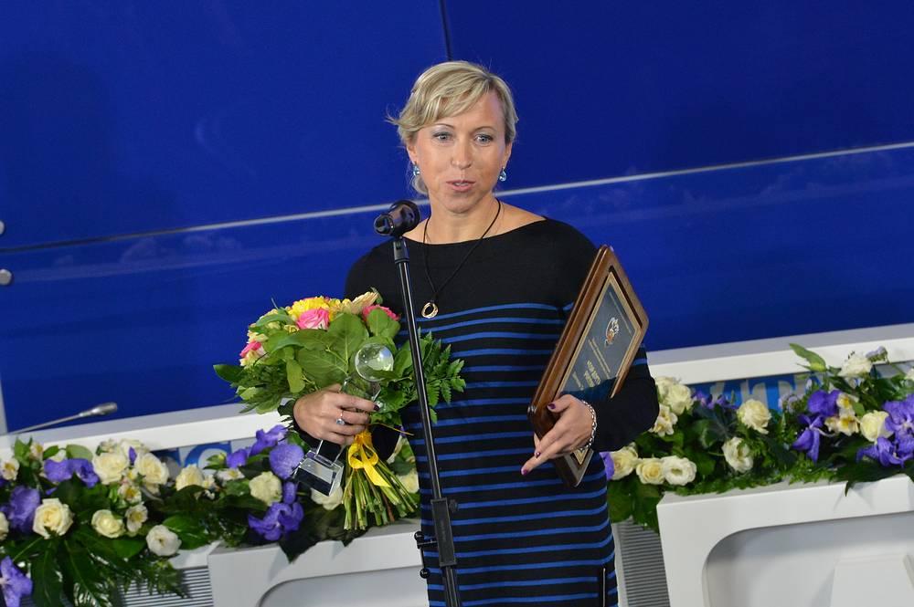 Старший тренер сборной России по синхронному плаванию Татьяна Данченко