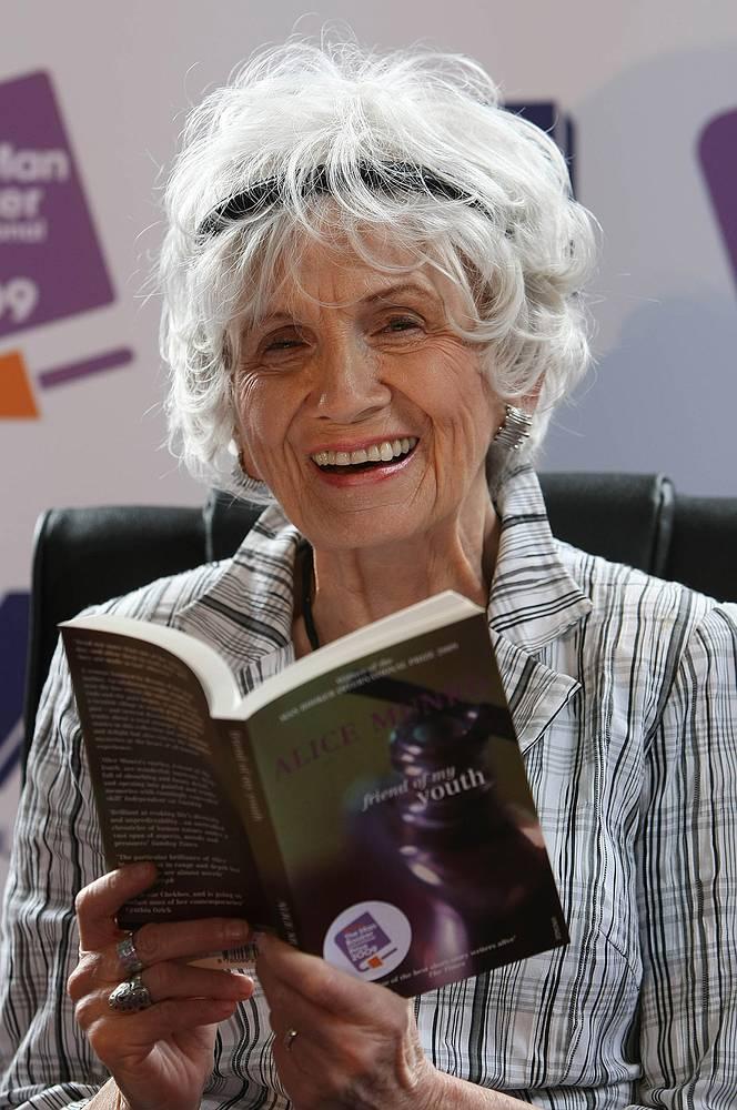 Канадская писательница Элис Манро, нобелевский лауреат премии по литературе