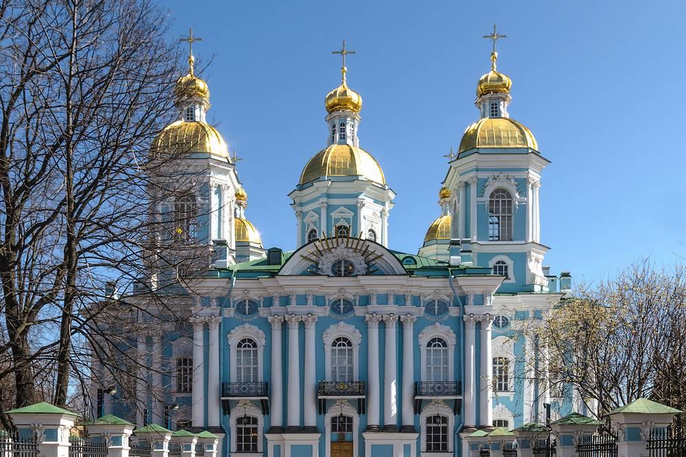 Николо-Богоявленский Морской собор.