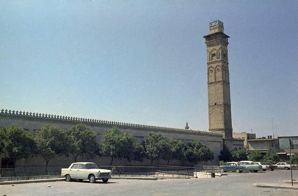 Омейядская мечеть в Алеппо, архив