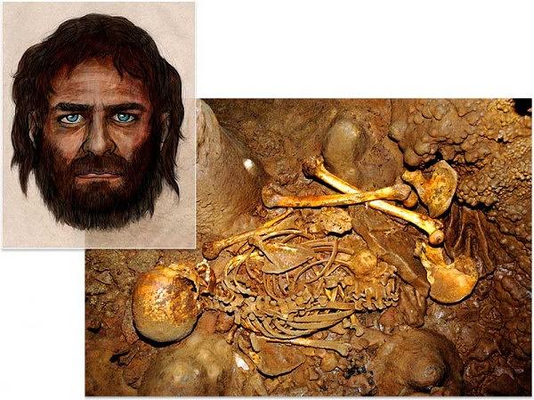 Кости, найденные в пещере Ла Бранья Аринтеро на севере Испании