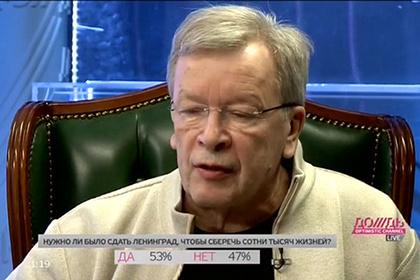 Виктор Ерофеев , стоп-кадр скандальной телепередачи