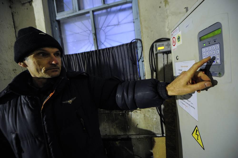 На водонасосной станции в селе Кочневское