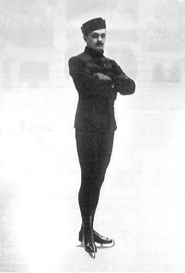 Николай Александрович Панин-Коломенкин на Олимпиаде- 1908 г.