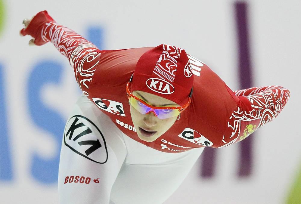 Конькобежка Екатерина Шихова