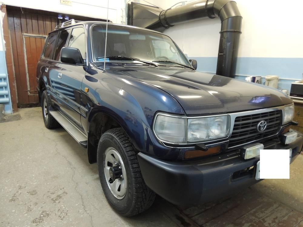 Служебный внедорожник 1996 года, проданный на аукционе, возил первого заместителя мэра Краснотурьинска