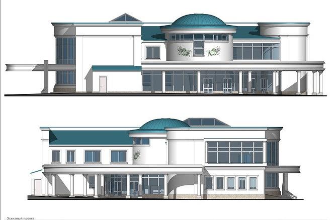 Проект реконструкции Дворца бракосочетания в Новосибирске