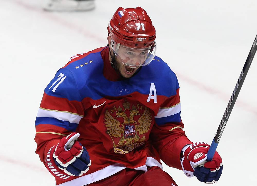 Нападающий Илья Ковальчук
