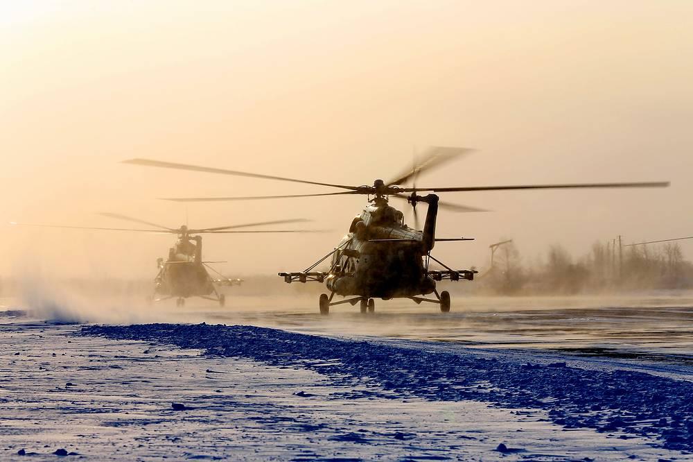 Учения по воздушному минированию летчиков ЦВО