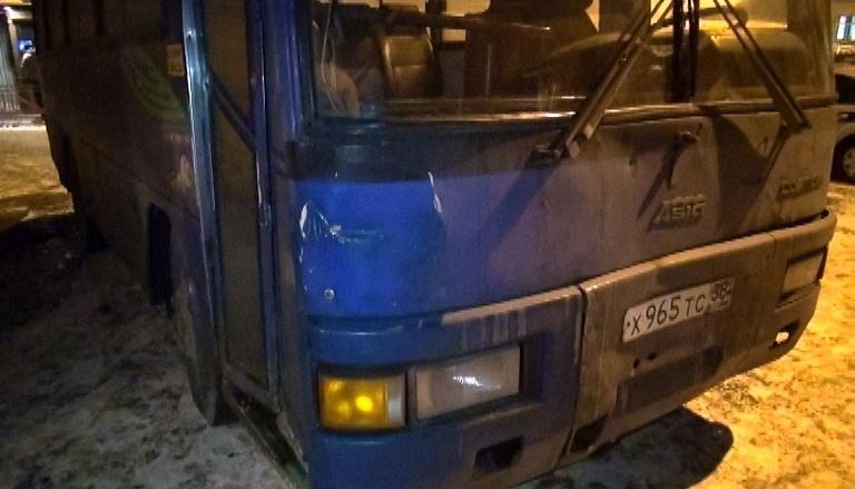 Автобус, под колесами которого в Иркутске погиб пассажир