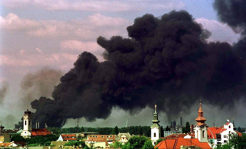 Бомбардировка силами НАТО сербского города Нови-Сад, 24 мая 1999 г.