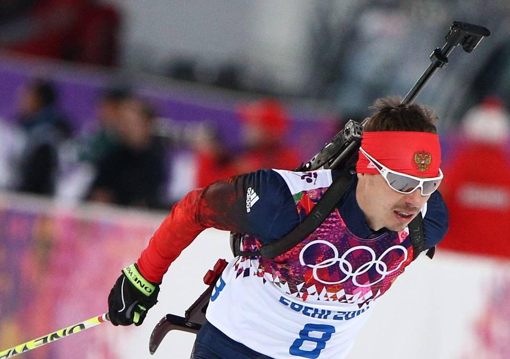Евгений Устюгов на домашней Олимпиаде в Сочи