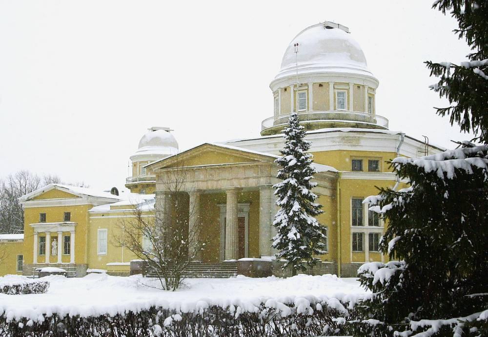 Здание Пулковской астрономической обсерватории РАН, 2004 год