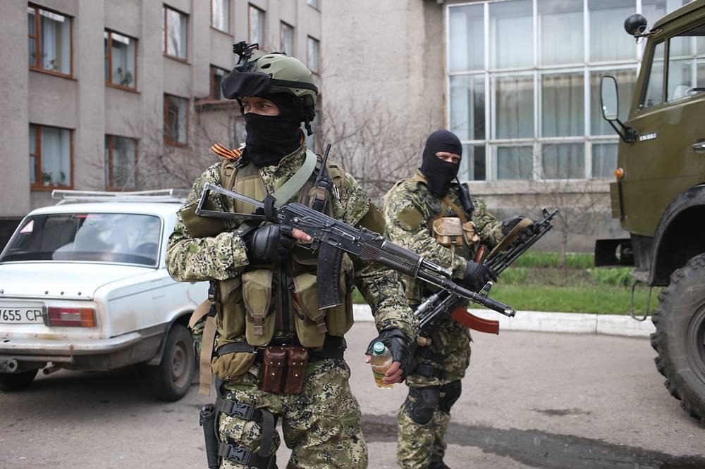 Славянск. На улицах города