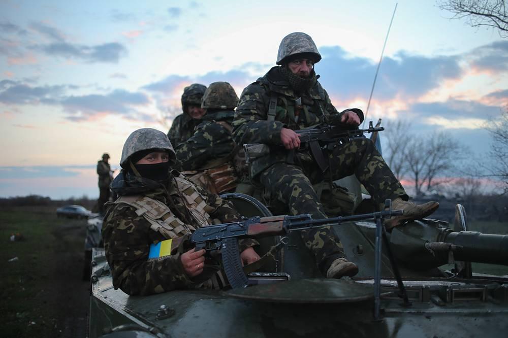 К Славянску направлены танки