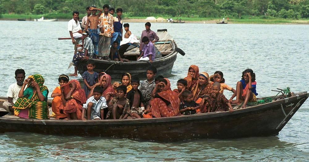 В ночь на 4 мая 2002 года на реке Мегхна близ города Чандпур попал в шторм и затонул паром Salahuddin 2. Погибли более 450 человек, спастись удалось 112 пассажирам